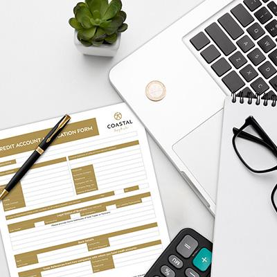 Coastal Hardware Credit Account Application Form